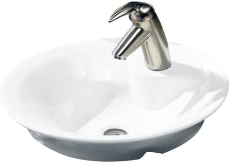 American Standard 0670.000.020 Morning Above Counter Bathroom Sink, White