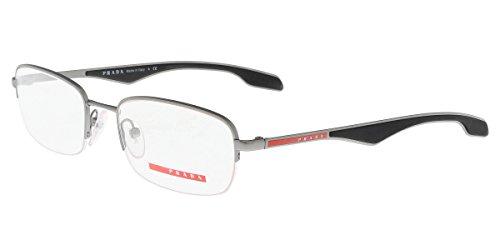 Prada Sport PS51EV Eyeglasses-7CQ/1O1 Gunmetal Demi - Luxottica Prada