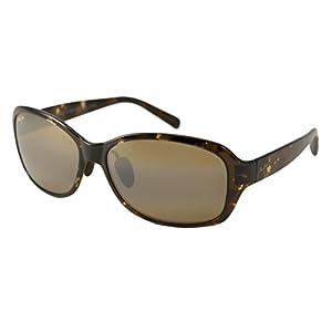 Maui Jim Koki Beach Polarized Sunglasses - Women's Olive Tortoise / HCL Bronze One Size