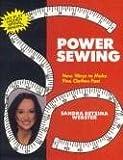 Power Sewing, Sandra B. Webster, 1880630133