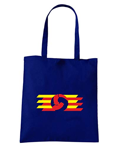 Speed Borsa Shirt BARCELLONA WC0218 Blu Navy BLAUGRANA Shopper 6gSxqpnw6z