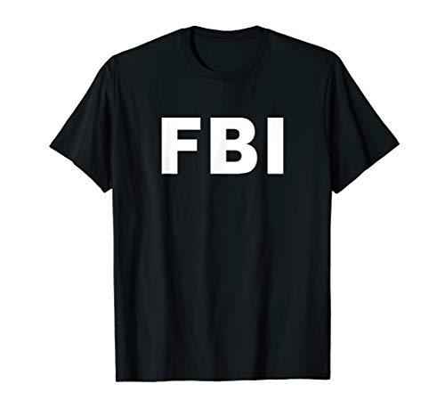 FBI Shirt Halloween Costume Federal Law ()