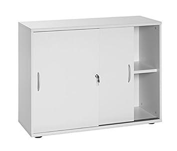 Büromöbel weiß grau  Büroeinrichtung Büromöbel Büro Grau Eckschreibtisch Bürocontainer ...
