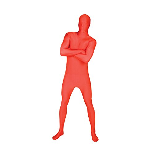 Original Morphsuit Fancy Dress Costume ,Red, X-Large (Red Morph Suits)