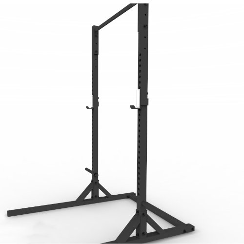 X2 Squat Stand With Pull Up Bar And Weight Storage Rack