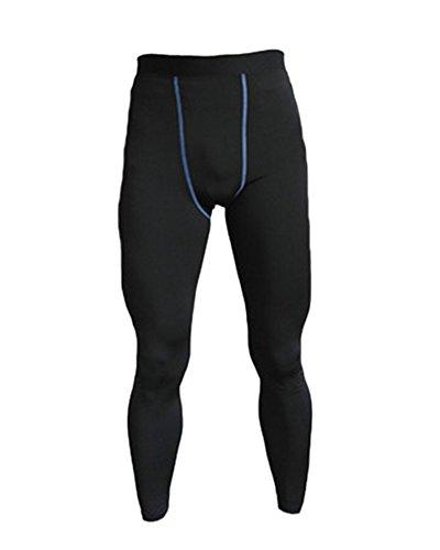 Collant Pour Noir Pantalon Course De Jogging Bleu Casual Legging Sport Fitness Compression Homme CnwSwaqXp