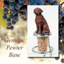 Chesapeake Bay Retriever Wine Bottle Stopper DTB90 by Conversation Concepts