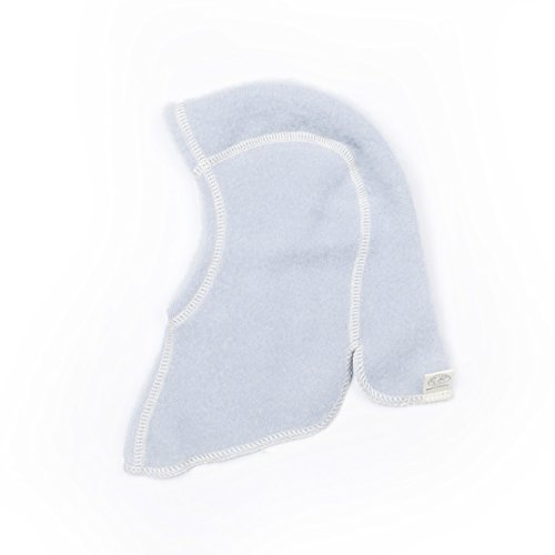 3628a8389 LANACARE Merino Wool Baby Balaclava in Light Blue
