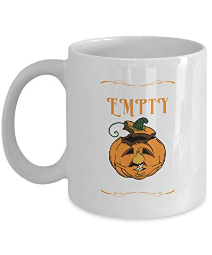 I Feel Empty Without You Carved Pumpkin Halloween Drinking Coffee Mug