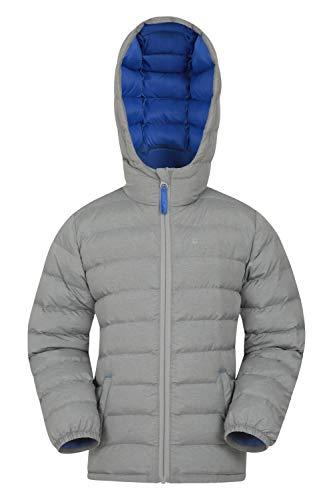 Mountain Warehouse Seasons Padded Kids Jacket – Water Resistant & Lightweight Insulated Rain Coat for Boys & Girls…