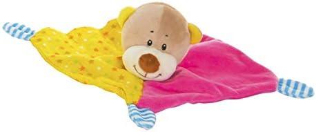 D Original//Infantil 10X8X20 cm Hogar y Mas Doudou de Animales para beb/és Peluche con Mantita en 4 Modelos a Elegir