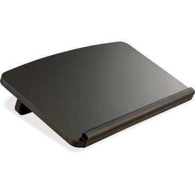 Safco Ergo Comfort Copyholder - SAFCO Ergo-Comfort Read/Write Freestanding Desktop Copy Stand, Wood, Black (SAF2156BL)
