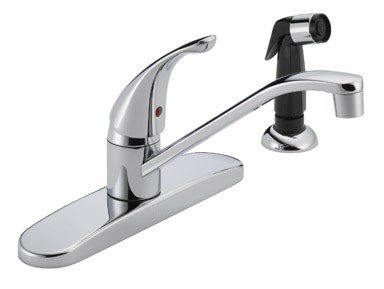 Peerless Single Handle Faucets (Peerless P15LF Classic Single Handle Kitchen Faucet, Chrome)