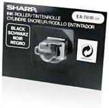 Original Sharp EA-781RBK rodillo de pintura (negro) para EL 1195, 1607, 1801, 2192, 2195, 2901, 2902, 2910