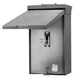 GE Distribution TE150R Circuit Breaker Enclosure 150 Amp 3-Pole Surface Mount Steel