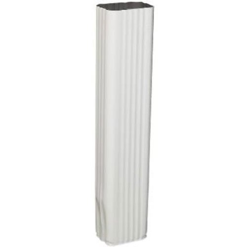 Amerimax 33075 15-Inch Downspout Extension, White