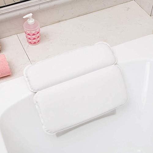 YXHMJPspy ホットタブジャグジーホームスパ用浴槽枕、PU発泡スポンジバス枕バスルームヘッド吸盤枕バス枕、