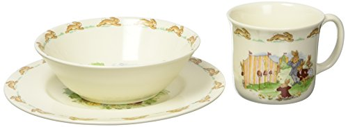 Royal Doulton Bunnykins 3-Piece Children's Set, Assorted - Dinnerware 3 Child Set Piece