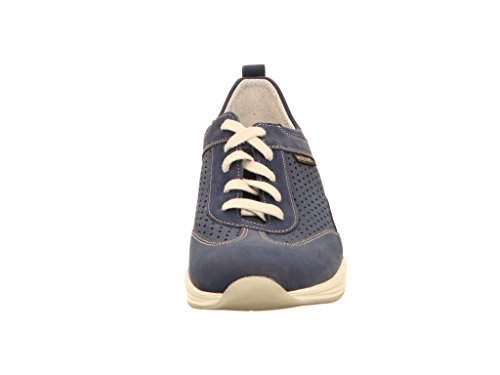 Navy Zapatos De Cordones 845 Para Mephisto Mujer Azul Yoana 6qxaPE
