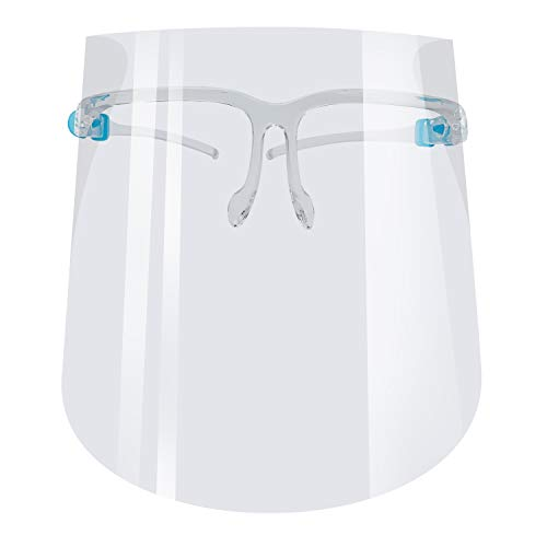 Clear Dental Goggle Shield Reusable Plastic Goggle Shield Safety Full Goggle Shield Protection Visor Anti Saliva