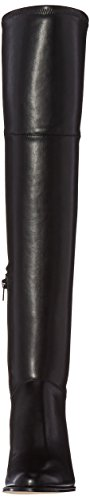 Motorcycle Klein Black Boot Calvin Women's Carli wpq7B0
