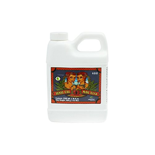 Advanced Nutrients 6360-12 Sensi Cal Mag Xtra, 250 mL.250 Liter, Brown/A