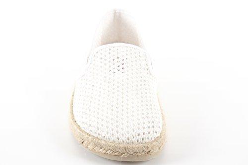 Espadrillas Basse Donna Machado 45 Weiß Bianco netz Andres pqw15C4