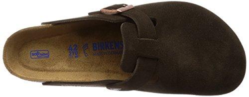 Birkenstock EU Mocha Soft Unisex N 44 Footbed Boston Suede qq47PxZrw