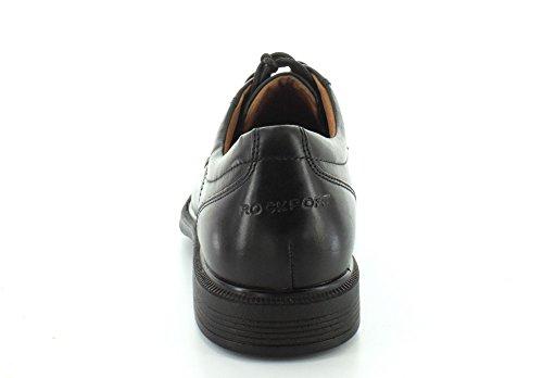 Schuhe Rockport Black Schürze Ox Toe Herren Duluxe SppnAP7