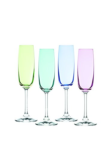 Marquis by Waterford Vintage Ombre Flutes Set (Set of 4), - Champagne Flutes Vintage Waterford