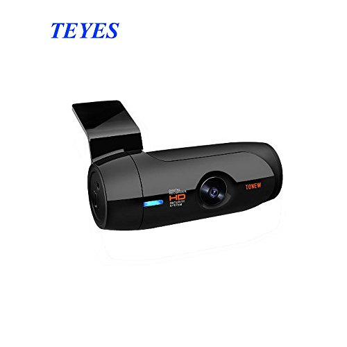 TEYES WiFi Car Dash Cam FHD 1080p 140 Degree Wide Angle Dashboard Camera Recorder with remote snapshot button, Night Vision, Loop recording, G-sensor, Motion Detection, built-in capacitor
