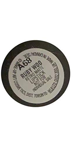MAC Lipstick- Ruby Woo -Retro Matte (Vivid Blue-Red) 3 g/0.2 US Oz.