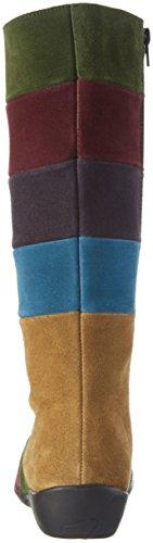 Johannes W.Karena - Botas Altas Para Mujer Multicolor (Combi Multi)