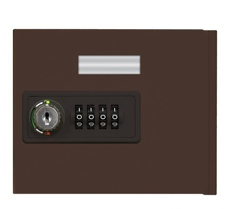 Salsbury 19951C-BRZ Replacement Door With Resettable Combination Lock Standard A Size - For Cell Phone Locker - Bronze