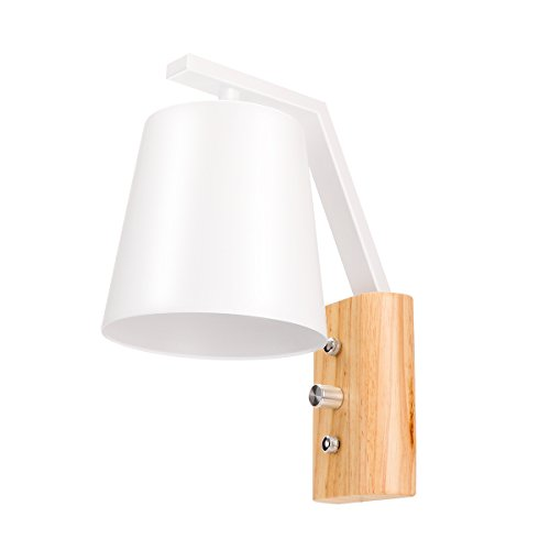 Lampe 40w Moderne Murale E27 Style Douille Interrupteur m0nN8w