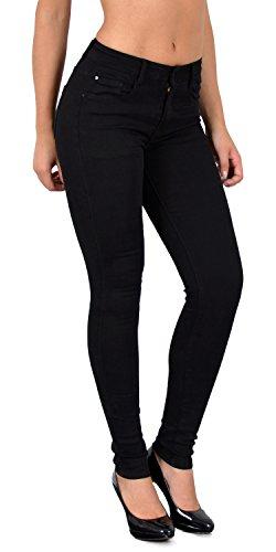 tex Pantalon noir Jeans Femme Jean Skinny SkinnyJeans by Typ ESRA Waist Femmes J403 Haute Taille Grandes Tailles High j403 dzq1xw
