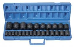 "Grey Pneumatic 1326M 1/2"" Dr. 26 Pc. Shallow Metric Socket Set from Grey Pneumatic"