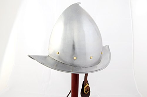 Ectoria EC01-054 European Spanish Comb Morion Helmet-Roman Costume Armor Romani Comb