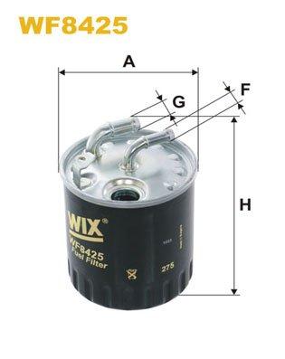 WIX FILTERS WF8425 Fuel Injectors: