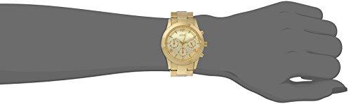 GUESS Women's U13578L1 Contemporary Gold-Tone Chronograph Watch