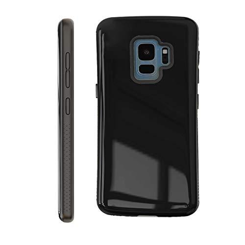 Samsung Galaxy S9 Case | Premium Luxury Design | Military Grade 15ft. Drop Tested | Wireless Charging | Compatible with Samsung Galaxy S9 - Black