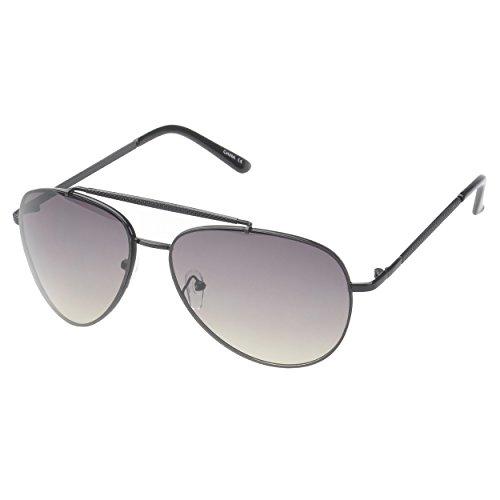 MLC Eyewear Vintage Classic Fashion Aviator Sunglasses Tri-Layer UV400 Unisex