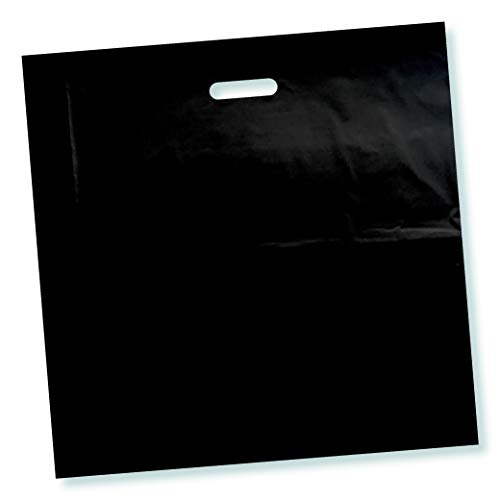 Black Plastic Bags - 100 Pack 18