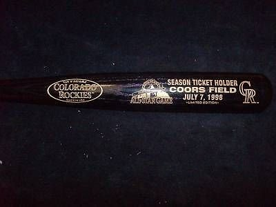 Bartolo Colon signed 98 All Star bat w/ COA