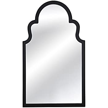 mirror clipart black and white. bassett mirror m3666ec myrna wall mirror, white lacquer clipart black and