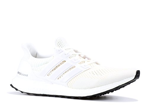 adidas Ultraboost 1.0 Shoe - Men's Running 18 White/Silver Met