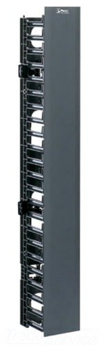 - Panduit WMPVF22E Vertical Cable Manager, Black