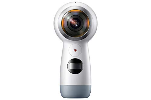 Samsung Gear 360 (2017 Edition) Real 360 4K VR Camera Camcorder - White (Renewed)