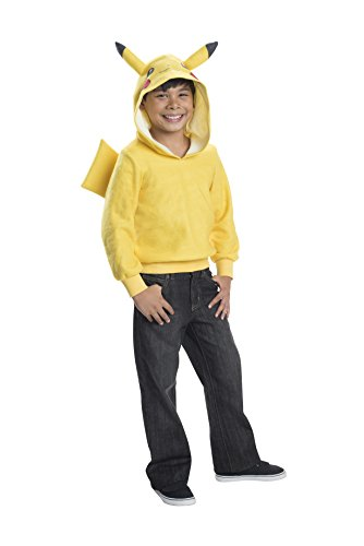 Rubie's Costume Pokemon Pikachu Child Novelty Hoodie Costume, Large