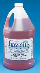 1-gal Blue Raspberry Snow Cone Syrup Concentrate ()